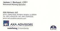 AXA Advisors - James J. Bertucci