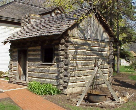 Log Cabin Arlington Heights Museum